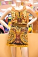 Bohemian sheik is personified in this square neck dress mini dress. Desigual Dress $160.00